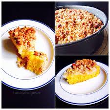 kürbis apfel kuchen mit mandelknusperstreuseln geniesserle
