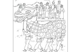 Chinese Zodiac Colouring Sheets New Year Coloring Pages 2015