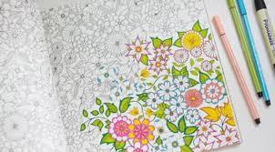 Belakangan Ini Tren Mewarnai Bagi Orang Dewasa Sedang Marak Di Indonesia Sendiri Ada Komunitas Tabrak Secret Garden Coloring BookAdult