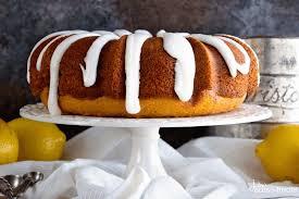 Lemon Bundt Cake with Lemon Frosting Tender Homemade Lemon Pound Cake with a Delicious