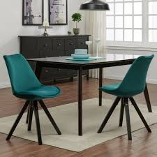 stuhl esszimmerstuhl küchenstuhl 2er set petrol grün holz