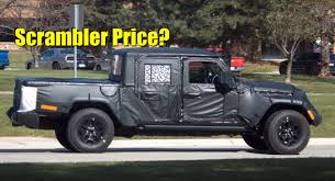 Report: Will The 2019 Jeep Scrambler / JT Wrangler Pickup Truck ...