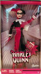 Barbie Harley Quinn Doll Figure Batman Mattel