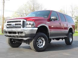 2001 Ford Excursion Limited 7 3L POWERSTROKE LIFTED BADASS SOLD