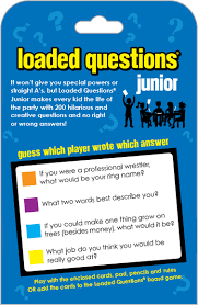 Loaded Questions Junior 200 Cool Creative Hilarious