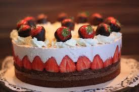 süße sünden erdbeer schoko torte