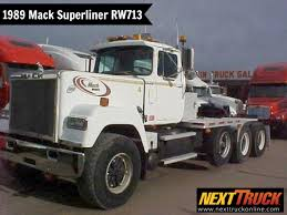 100 Day Cab Trucks For Sale ThrowbackThursday Check Out This 1989 Mack Superliner RW713
