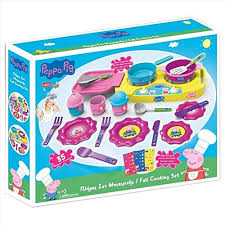 bildo 8108 peppa pig big kitchen set multi colour by bildo