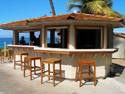 Home Patio Bar Ideas  Outdoor Kitchen And Pergola Project In