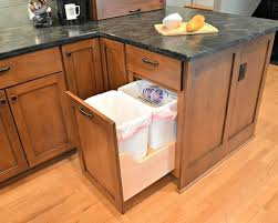 Awesome Kitchen Trash Can Ideas Hidden Home Design Pictures Remodel And Decor