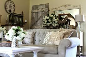 rustic shabby chic living room