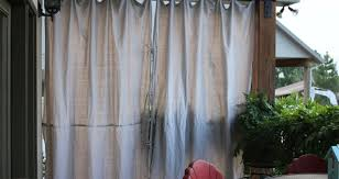 Roll Up Patio Shades by Curtains Outdoor Curtains For Porch Honor Outdoor Screen Porch