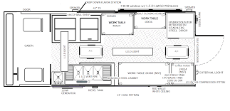 100 Food Truck Dimensions Design Floor Plans Layouts