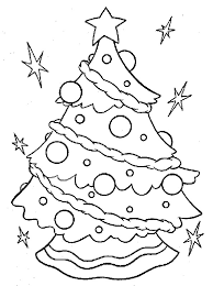 Christmas Tree Coloring Pages Book 31