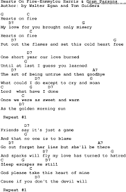 Country Music:Hearts On Fire-Enmmylou Harris & Gram Parsons Lyrics ... Pass Thru Fire The Collected Lyrics Lou Reed 97806816307 Titu Songs Truck Song For Children With Video 25 Iconic Rap About Weed Billboard Best Choice Products 12v Kids Battery Powered Rc Remote Control Nct 127 Color Coded Hanromeng By Motocross Whip Cool Black Business Card Motorcycle Themd In Battle Years Hillsburn Pack 562 Book No2 2000 Christmas Could The Lyrics Be Updated Mighty 790 Kfgo Farmer Brown Had Five Green Apples And Variations Storytime Ukule Sisq Just Explained That Famous Thong Lyric Dumps Like A