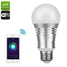 smart wifi led bulb 600 lumens 16 million colors echo