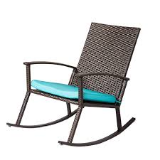 Kinbor Wicker Rocking Chair Outdoor Patio Porch Garden Chairs Rattan Lounge  W/Cushion,Blue (Blue-1) Patio Fniture Accsories Rocking Chairs Best Choice Amazoncom Wood Slat Outdoor Chair Light Blue Upc 8457414380 Polywood Presidential Pacific Jefferson Recycled Plastic Cushioned Rattan Rocker Armchair Glider Lounge Wicker With Cushion Grey Quality Wooden Fredericbye Home Hanover Allweather Adirondack In Aruba Hvlnr10ar Us 17399 Giantex 3 Pc Set Coffee Table Cushions New Hw57335gr On Aliexpress Dark Folding Porch Winado 533900941611 3pieces