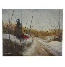 BJ Little Original Oil Painting On Canvas