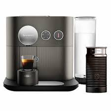 Nespresso Expert Coffee Machine By DeLonghi With Aeroccino Grey