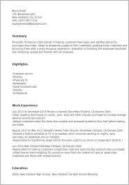 Grocery Store Clerk Resumes Fast Lunchrock Co Rh Supermarket Resume Job Duties