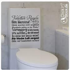 toiletten regeln wandtattoo wandaufkleber wc bad klo w1090