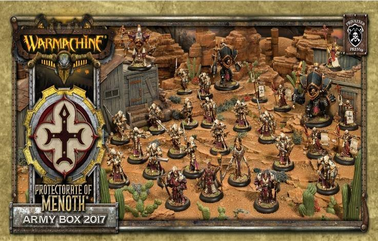 Warmachine Protectorate of Menoth Army Box 2017