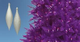 Decorating A Purple Christmas Tree
