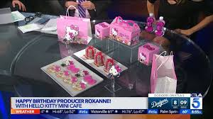 Pumpkin Patch Victorville Ca by Happy Birthday Producer Roxanne With Hello Kitty Mini Café Ktla