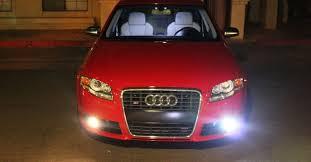 hid fog lights on a b7 audi a4 and s4 nick s car