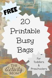 Gizmo Pumpkin Pattern Free by The Activity Mom 20 Free Printable Busy Bags