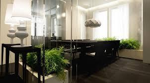 Contempo And Cozy Home Decoration From Katarzyna Kraszewska Snazzy Black Dining Table Chairs With