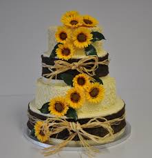 Full Size Of Wedding Cakesrustic Sunflower Cakes Burlap