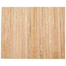 bambus teppich 120x180 weiß