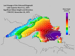 42 years ago a violent storm sank the edmund fitzgerald in lake