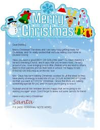 Word Santa Letter Template Image collections Letter Examples Ideas