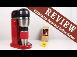 Review KitchenAid Personal Drip Coffee Maker