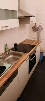bauhaus respekta einbauküche 2 5 meter 2 jahre alt weiß braun