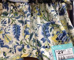 Waverly Curtains And Drapes by Waverly Valance Lowes Blue U0026 Yellow Dining Room Pinterest