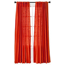 Target Threshold Window Curtains by Natural Core Solid Curtain Panel Threshold Target