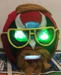 Homestar Runner Halloween Pumpkin by My Friend U0027s Mom Made Me A Pretty Awesome Senor Cargage Mask For