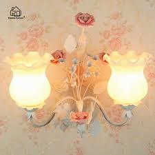 modern flower wall lights for bedroom living room arandela led