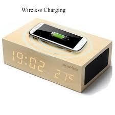 Aliexpress Buy Wireless Charging Pad Mat Wooden Bluetooth