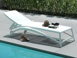 chaises longues de jardin chaises longues jardin chaise longue jardin blanche nardi chaise