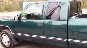 100 1998 Chevy Truck For Sale K1500 4X4 X Cab Green For Sale YouTube