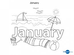 Free Printable Coloring January Pages 14 For Your Download With