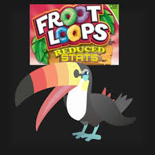Fruit Loops Cereal Toucannon