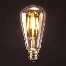 oak leaf 4w st64 vintage antique led bulb edison bulb led dimmable