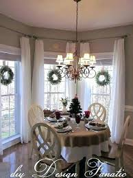 Window Treatments For Dining Room Living And Kitchen Bay