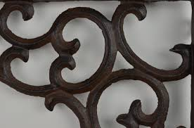 cast iron shelf brackets ornate shelf brackets ornate shelf brace