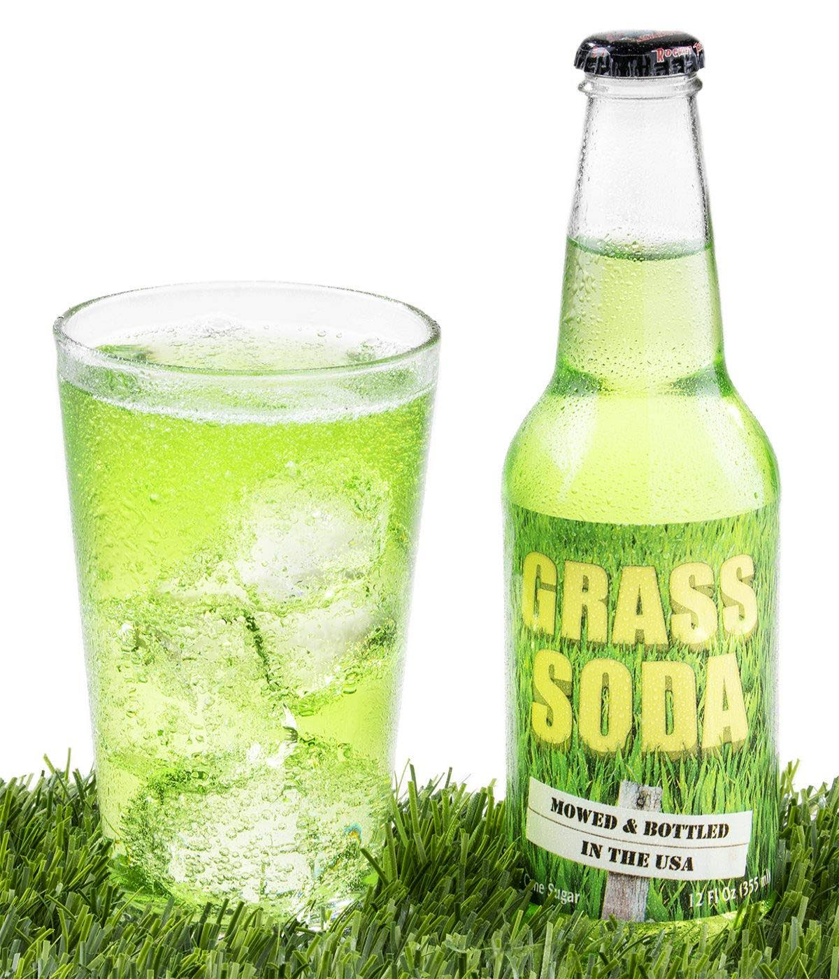 Grass Soda Pop Weird and Surprising Soda
